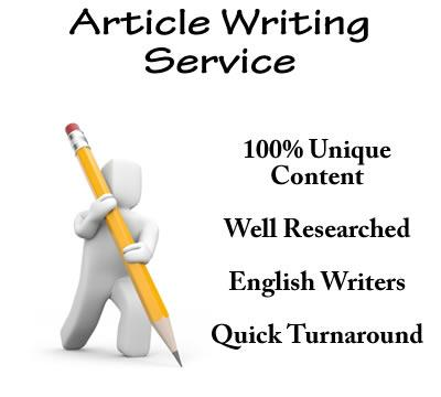 How to Get the Most Your High Quality Article Writing