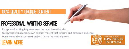 Quality article writing service