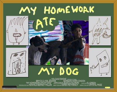 My Homework Ate My Dog   Audio Perception Post