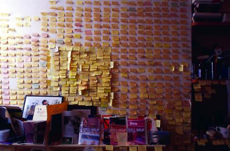 Will Self's writing room. A 360 degree view in 71