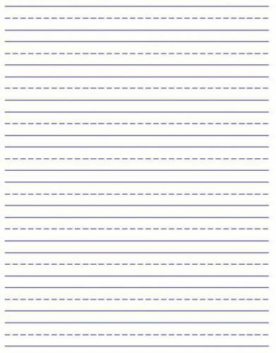 Free Printable Primary Writing Paper