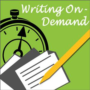 Assigning writing prompts will help with on-demand writing.