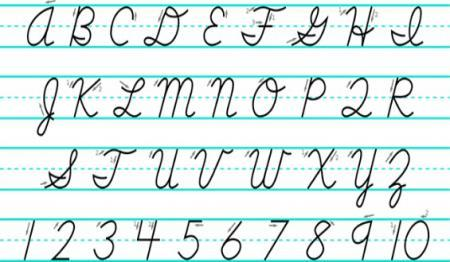 Cursive Taking Backseat to Other Skills, Common Core