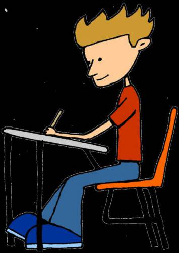 Students Writing Clipart - ClipArt Best