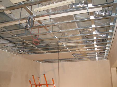 Metal Stud plafond en wand 023 – Montagebedrijf Pannekoek